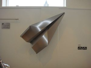 Folded_stainless_steel_aeroplane_1