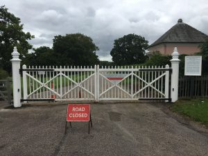 Cranbourne Gate Posts