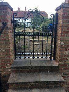 Odiham Gate and handrail