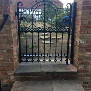 Odiham Gate and handrail