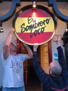El Sombrero Loco sign
