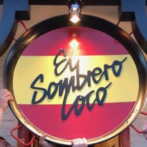 El Sombrero Loco sign cropped