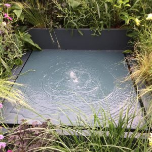 Water feature table